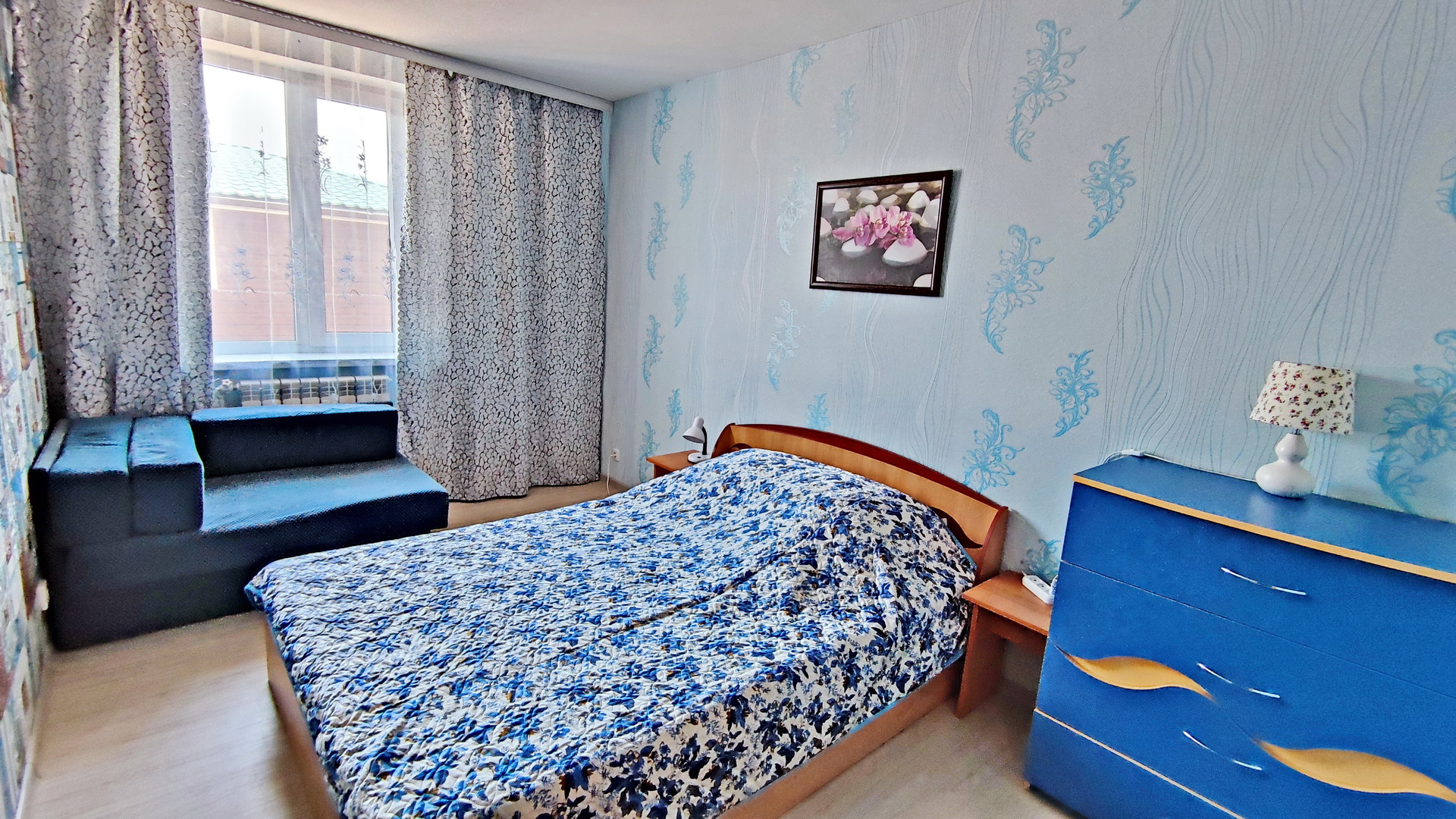 Апартаменты с двумя спальнями и кондиционером 30 м2