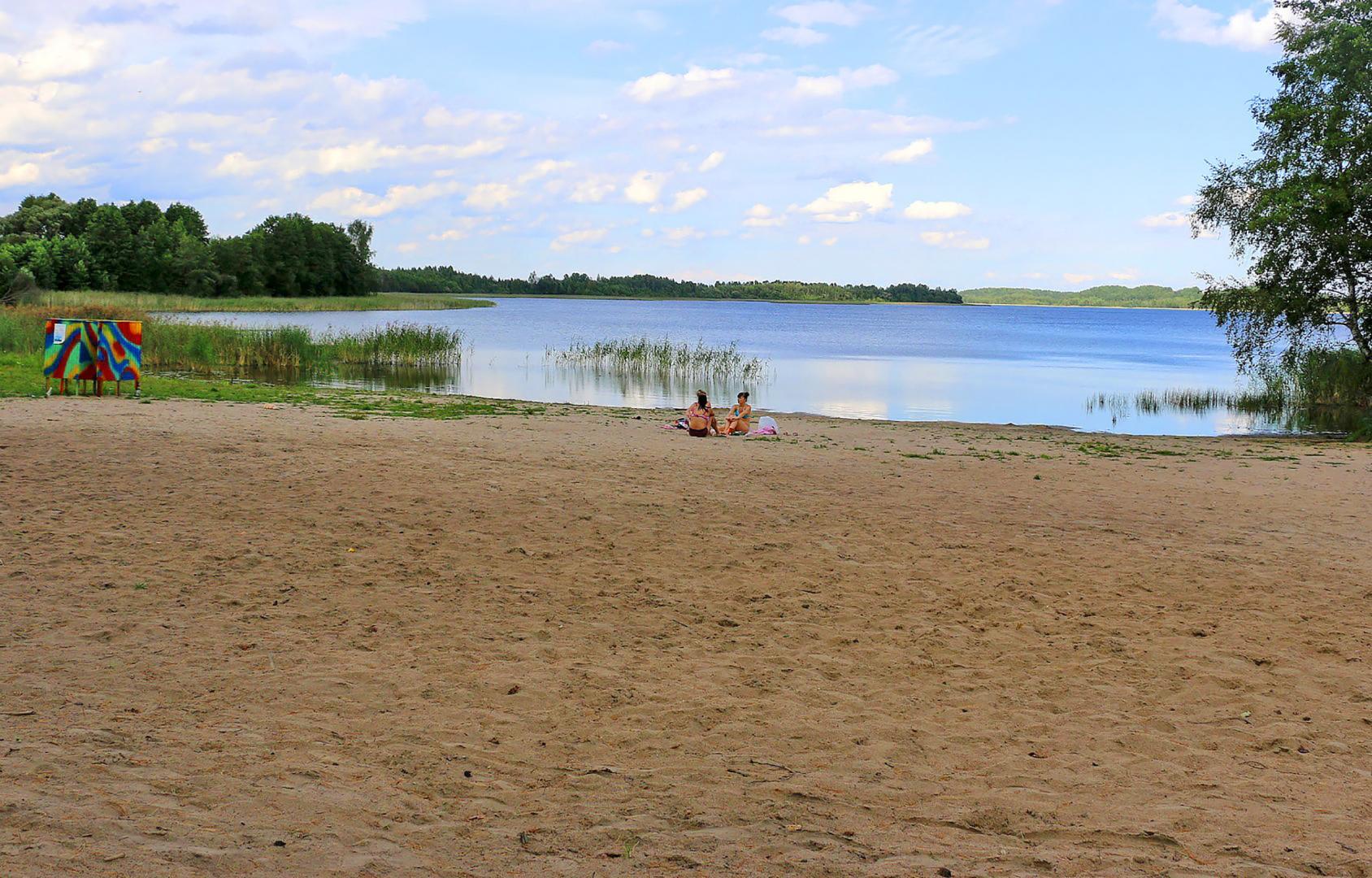 Пляж озера Войсо (900 )